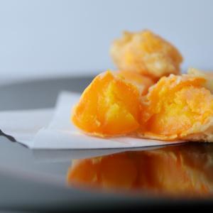 ねっとり。料理屋さんの卵の黄身の天ぷらの作り方