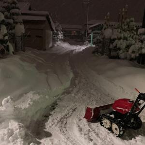 暴風のち大雪