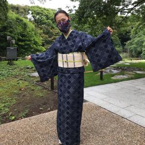 初おろしの夏久留米で上野散策