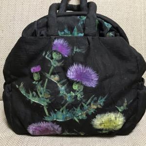 アヤンティーヌ作夏のバッグ☆アザミ