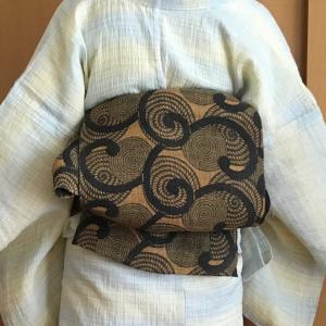 『うつくしき日本の手仕事展」で榀布の帯の魅力を再確認