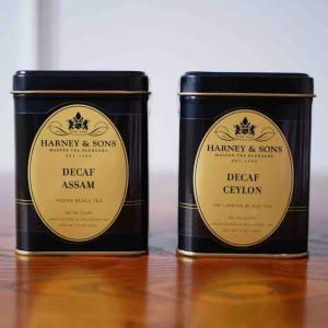 Harney&Sonsのデカフェ紅茶、2種類購入