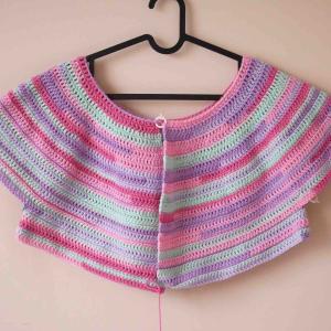 「編みやすくて心地いいニットのふだん着」かぎ針編みカーディガン 突然の最終回
