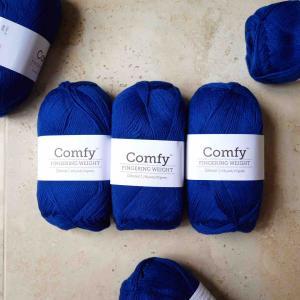Knit Picksで買ったコットン糸と針、そして編む予定のもの