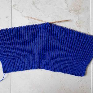 「ヨーロッパの手あみ 2021 春夏号」ノースリーブセーター 編みはじめ