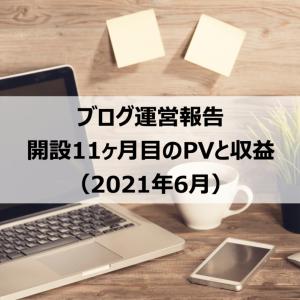 【ブログ運営報告】開設11ヶ月目のPVと収益(月間3,000PV達成!)