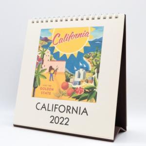 おしゃれな卓上カレンダー!Cavallini Desk Calendar 2022 【カリフォルニア購入】