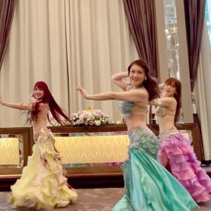 花嫁さんが踊るベリーダンス【名古屋ベリーダンススクールオラクル】