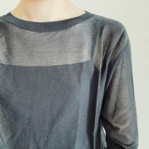 【ファッション】UNIQLO ライトシアーボートネックセーター