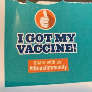 カナダでコロナワクチン1回目