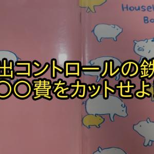 【家計の管理】支出コントロールの鉄則!【○○費】カットを優先せよ!