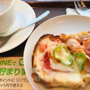 上島珈琲店と夕飯のえのきの肉巻き