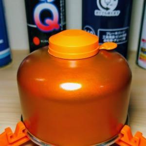 【OD缶再塗装】アウトドア用のガスカートリッジを自分好みの色に再塗装したらいい感じの色合いに٩( 'ω' )و
