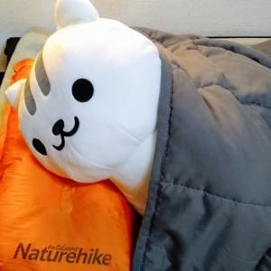 【NatureHike】枕にもアウトドア用ってあるんですね!!軽量コンパクトになる自動インフレーターピローを買ってみた