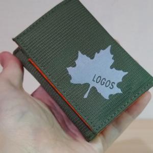 【ロゴス三つ折りウォレット】小さくて可愛いロゴスのお財布を自慢するはずだったのですが小銭が漏れる😱