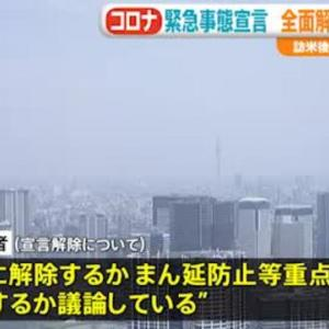 【マジ…❗❓】政府、緊急事態宣言の全面解除を検討 GOTOも再開へ