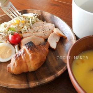ダイソーの木皿が圧倒的に安い!コンビニ食材でオシャレな朝ご飯になるか