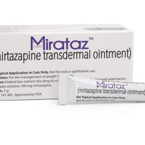 日本未入荷!耳に塗るだけの食欲増進剤「Mirataz ミラタズ」