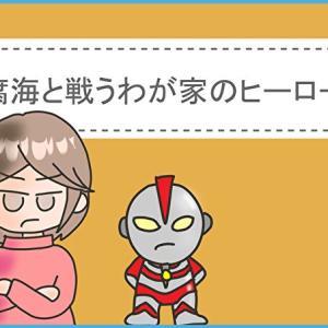 絵日記:腐海と戦うわが家のヒーローは?(我が家が腐海にのまれるシリーズ⑤)