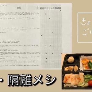 ベルギー発、日本。成田のホテルで隔離メシ