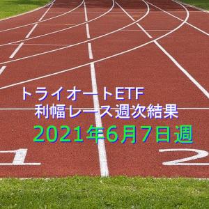 トライオートETF利幅週次結果(2021年6月7日週)28週目