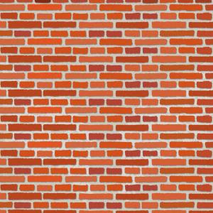 No.282 赤いレンガの背景のイラスト