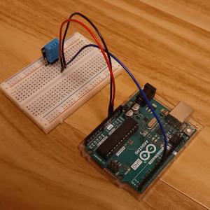 arduinoで温湿度を測定!