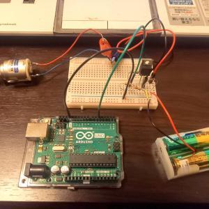 Arduinoでモーターを動かすのは大変