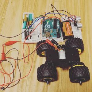Arduinoで止まるプログラム