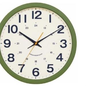 静音秒針掛け時計(シャオSW-GR)