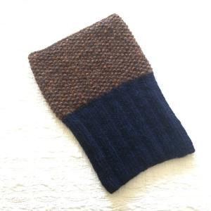 手編みのスヌード、出来上がり