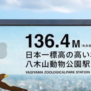 日本一標高の高い地下鉄駅 (*ただし日本一ではない)