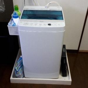 洗濯機周りのスッキリ収納 【と、家計簿】