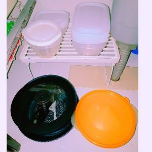 ミニマリストのキッチン!?食器の断捨離。タッパーで十分かも。 【と、家計簿】
