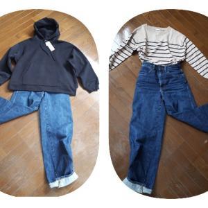 冬の普段の服は3枚だけ。GUで洋服購入!!!んで、断捨離。 【と、家計簿】