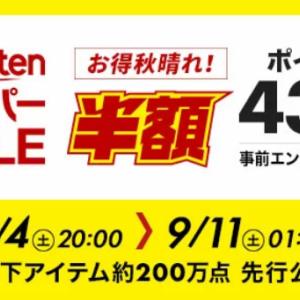 楽天スーパーセール2021・9月度 必見! 私が購入してきた『おすすめ商品』