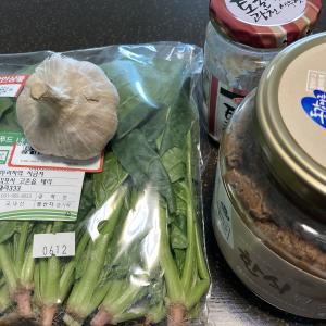 てきとう料理 「シグムチクッ」〜ほうれん草スープ〜