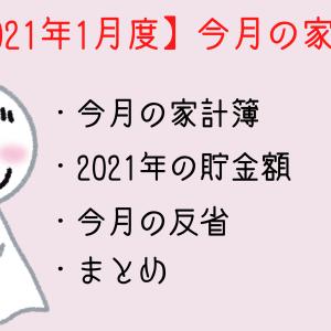 【2021年1月度】今月の家計簿
