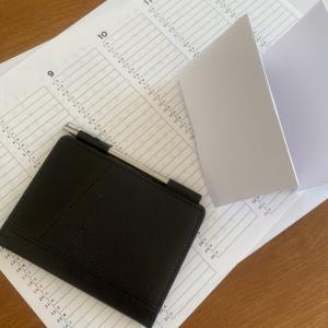 【ミニマリスト持ち物#1】アブラサス「薄いメモ帳」とオリジナルスケジュール表