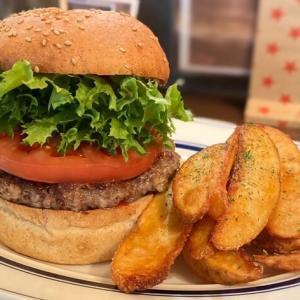 【ファンタイム】富山市の迫力満点アメリカンなハンバーガーを食レポ!