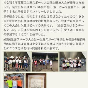 都民生涯スポーツ大会中止(ヨネマル)