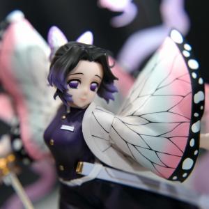 バンダイ フィギュアーツZERO 鬼滅の刃 胡蝶しのぶ 蟲の呼吸 フィギュア展示
