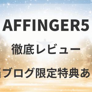 【おすすめ特典あり】AFFINGER5の徹底レビュー&購入方法!