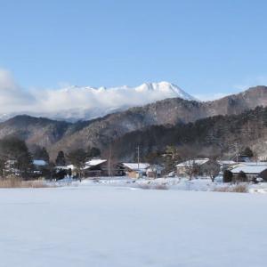 2021年1/6開田高原雪景色