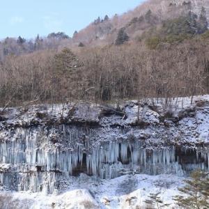 2021年1/14現在~白川氷柱群ー⓹