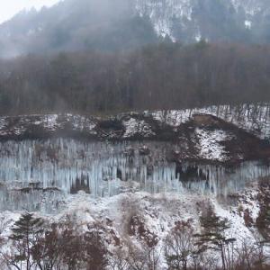 2021年1/22現在~白川氷柱群ー⑦