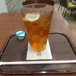 HOTなアイスティー?・・・まっ!大阪にはあるかもと思ったり