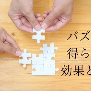 パズルによる知育効果はバツグン!遊びで得られる5つの効果とは?