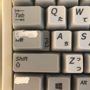 キーボードのこだわりはCtrl