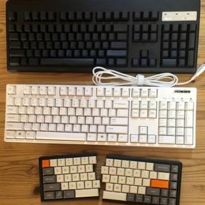 やっぱり日本語配列のキーボードやめた。その後